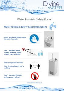 thumbnail of Divine Water Fountian Safety Poster for Schools