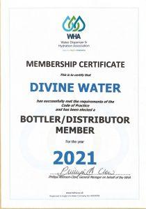 thumbnail of DIVINE MEMBERSHIP CERTIFICATE 2021