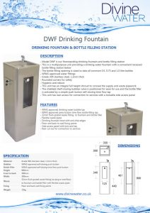 DWF Fountain and Filler brochure